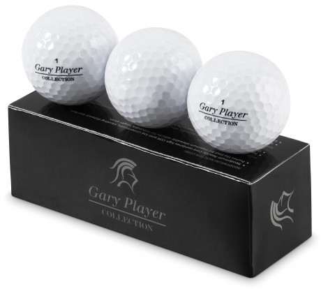 Gary Player Soft Feel Golf Balls (Set Of 3)
